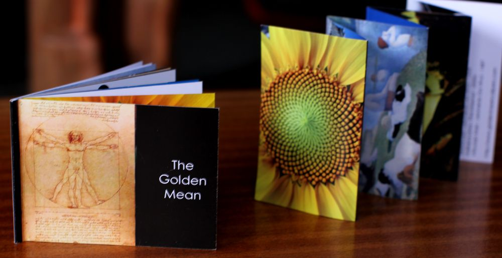 Brochure ware golden mean calipers basically consisting of a bunch of little pictures of golden mean things the brochure im getting done at a local printers the booklet reheart Gallery