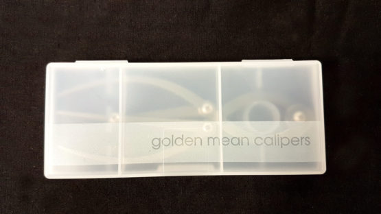 Golden Mean Calipers in Plastic Case