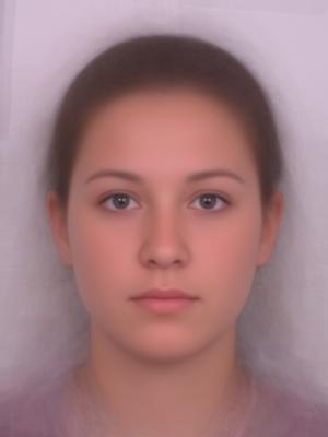 face average female