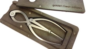 Golden Mean Calipers in Hardboard Case