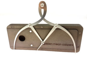 Golden Ratio Calipers in Hardboard Case