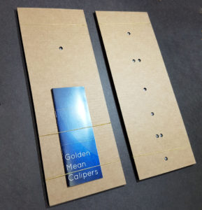 Cardboard postal packaging