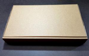 Cardboard postal packaging